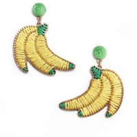 Banana Statement Earrings