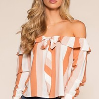 Something Sweet Top - Peach