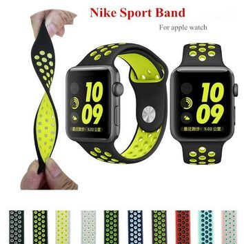DCCKB6F Sport band for iwatch 123 strap band for apple watch 42mm /38 silicone strap