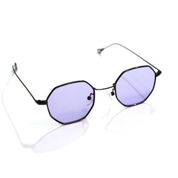 Purple Octagon Sunnies