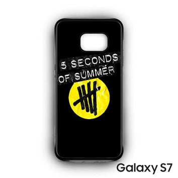 5 Second of Summer logo for Samsung Galaxy S7 phonecases