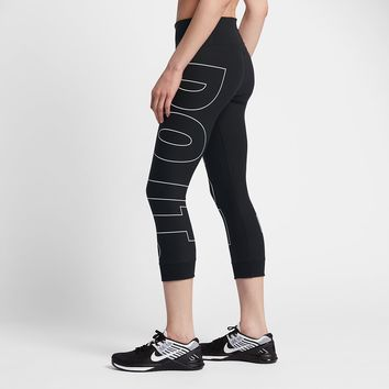"Nike Power Legend Women's 22"" Training Crops. Nike.com"