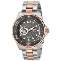 Invicta 15417 Men's Pro Diver Grey Dial Two Tone Bracelet Automatic Dive Watch