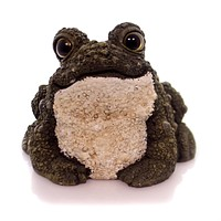 Garden Two Tone Green Toad Figurine