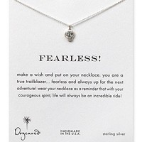 Dogeared Fearless Necklace, 18"