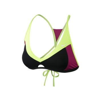 Nike Epic Block Crossback Sport Bra Women's Swim Top
