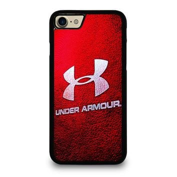 UNDER ARMOUR LOGO RED iPhone 4/4S 5/5S/SE 5C 6/6S 7 8 Plus X Case