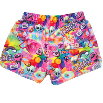 iScream Psychedelic Plush Shorts