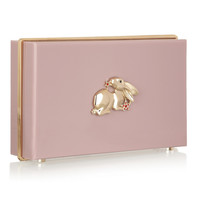 Charlotte Olympia - Year of the Rabbit Pandora Perspex clutch