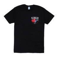 All Time Low Heart Scissors Logo T-Shirt