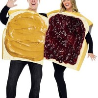 Peanut Butter and Jelly Couples Costumes-Party City