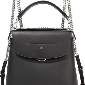 Fendi - Back to School large leather backpack