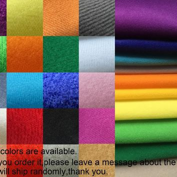 10pcs/lot Assorted colorful Nylex,toy doll cloth,galling flannelette,sofa fabric material sticking,Handmade Stuff pile velvet