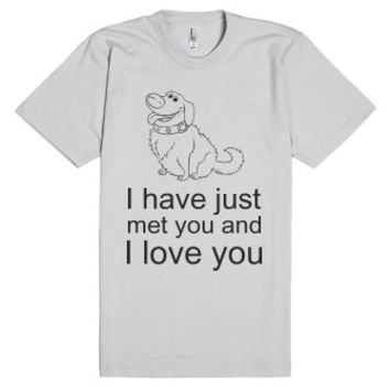 Doug's Love-Unisex Silver T-Shirt