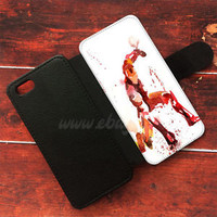 iron man Water color Wallet iPhone cases Samsung Wallet Leather Phone Cases