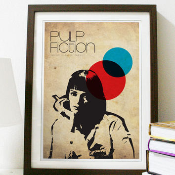 Pulp Fiction A3 Poster
