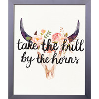 Take The Bull By The Horns | Printable