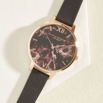 After Flowers Watch in Rose Gold | Mod Retro Vintage Watches | ModCloth.com