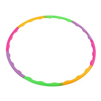 Kids Hula Hoop Detachable Hoop for Children's Exercise Fitness Workout Playing 65cm