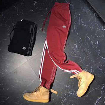 ADIDAS Alexander Wang x Adidas Drop Women Men Lover Casual Pants Trousers Sweatpants G