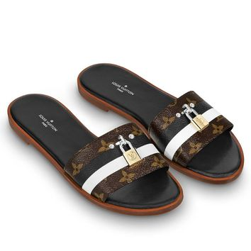 Louis Vuitton LV  Flat bottom and cold towing
