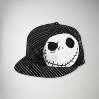 Nightmare Before Christmas 'Jack' Pinstripe Flatbill Hat