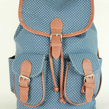 Comfort On Sale College Back To School Hot Deal Stylish Ladies Canvas Casual Backpack [7494025409]