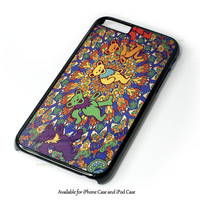 Grateful Dead Tie Dye Tapestry Design for iPhone 4 4S 5 5S 5C 6 6 Plus, and iPod Touch 4 5 Case