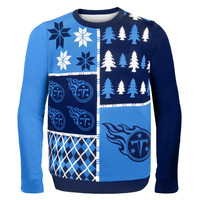 Tennessee Titans - Busy Block Ugly Sweater