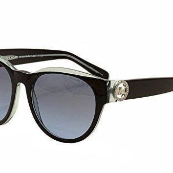 Michael Kors Women's Bermuda Black Blue Sunglasses