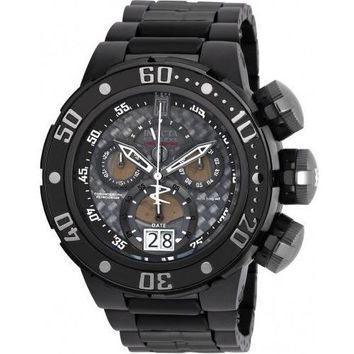 Invicta Men's 22272 Jason Taylor Quartz Chronograph Black, Titanium Dial Watch