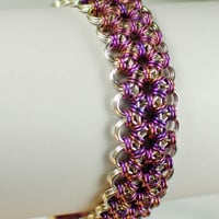 Ume Japanese Lace Micro-Maille Bracelet