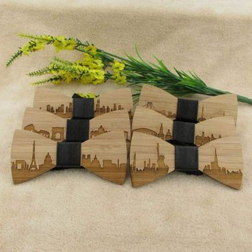 Iconic Skylines Bow Ties
