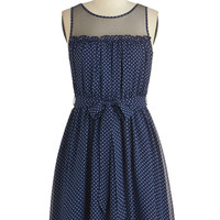 ModCloth Short Sleeveless A-line Pinot Tasting Dress