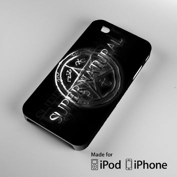 supernatural Logo A1177 iPhone 4S 5S 5C 6 6Plus, iPod 4 5, LG G2 G3, Sony Z2 Case