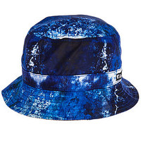 The Blue Corrosion Bucket Hat in Black