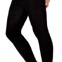 New York Black Large Stretch Knit KD dance Tights, Comfy, Sexy & Made In USA, Shipped Via Amazon or