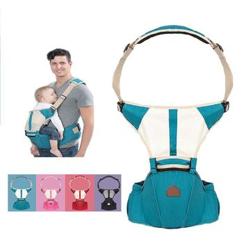 Christmas gift0-30 Months Breathable Front Facing Baby Carrier 4 in 1 Infant Comfortable Sling Backpack Pouch Wrap Baby Kangaroo