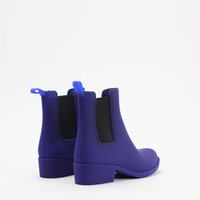 STORMY Rain Boot Royal Blue Rubber : AMO STORE