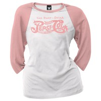 Pepsi - Get Busy Juniors Raglan