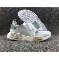 Adidas Boost Nmd R1 BY3033 Women Men Fashion Trending Running Sports Shoes Sneakers