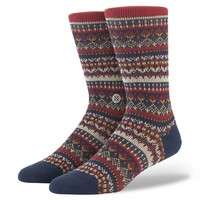Stance | Moorland Navy, Maroon socks | Buy at the Official website Stance.com.
