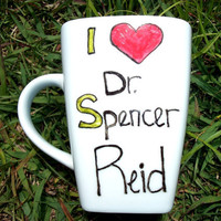 SALE I love Doctor Spencer Reid Criminally in Love MMMug
