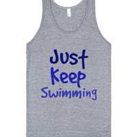Finding Nemo-Unisex Athletic Grey Tank