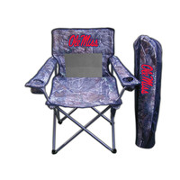 Mississippi Rebels NCAA Ultimate Real Tree Camo Adult Tailgate Chair