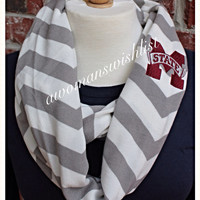 Miss  State Infinity Scarves