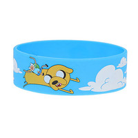 Adventure Time Rubber Bracelet | Hot Topic