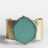 Quarry Cuff Bracelet - $16.00 : ThreadSence, Women's Indie & Bohemian Clothing, Dresses, & Accessories
