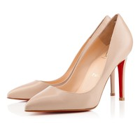 Pigalle 100mm Blush 1 Lea Nude Leather