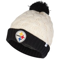 Pittsburgh Steelers - Matterhorn Large Weave Knit Beanie